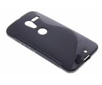 Zwart S-line TPU hoesje Motorola Moto X