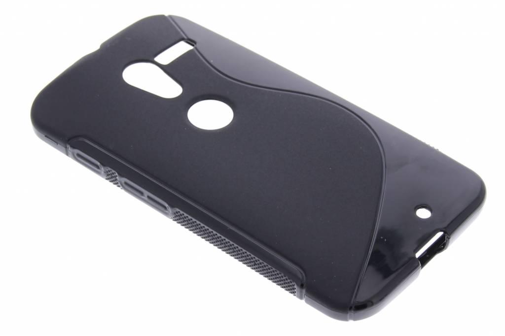 Zwart S-line TPU hoesje voor de Motorola Moto X