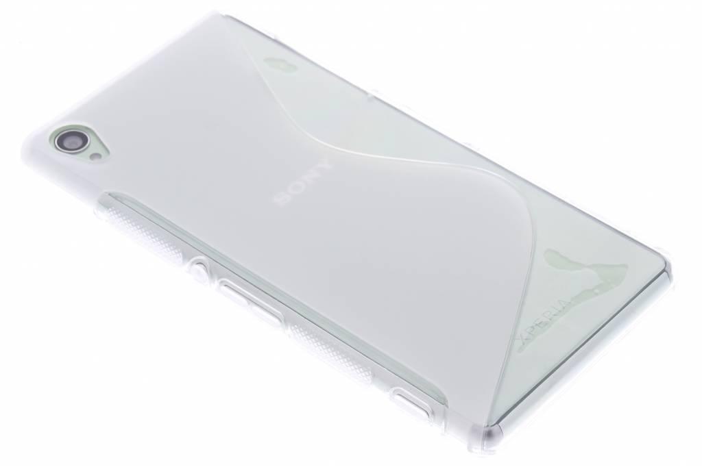 Transparant S-line TPU hoesje voor de Sony Xperia Z3
