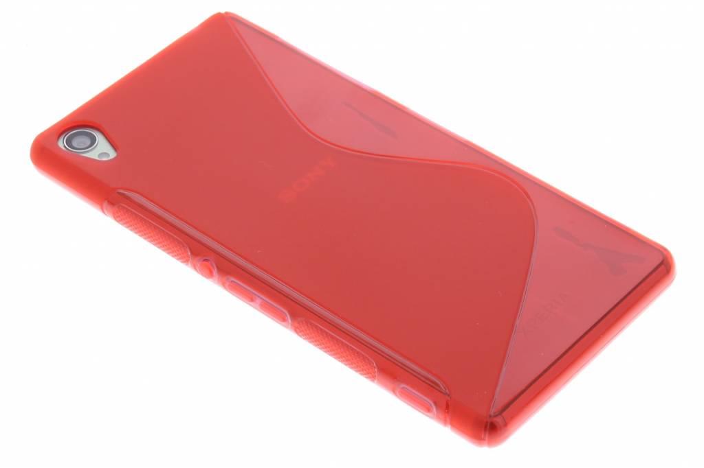 Rood S-line TPU hoesje voor de Sony Xperia Z3