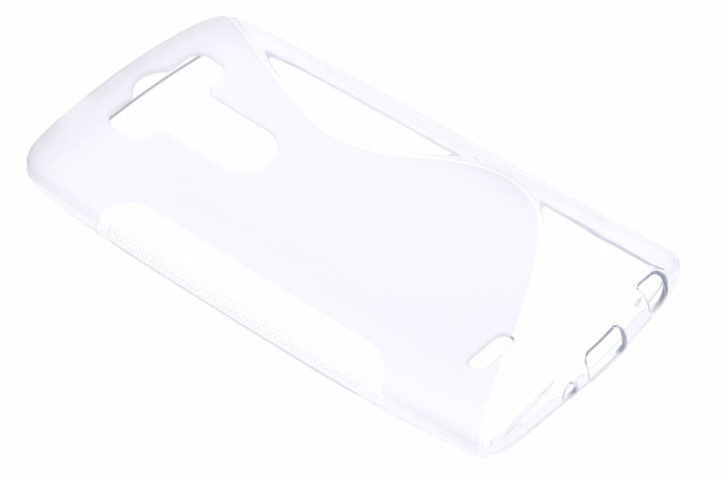 Transparant S-line TPU hoesje voor de LG G3 S