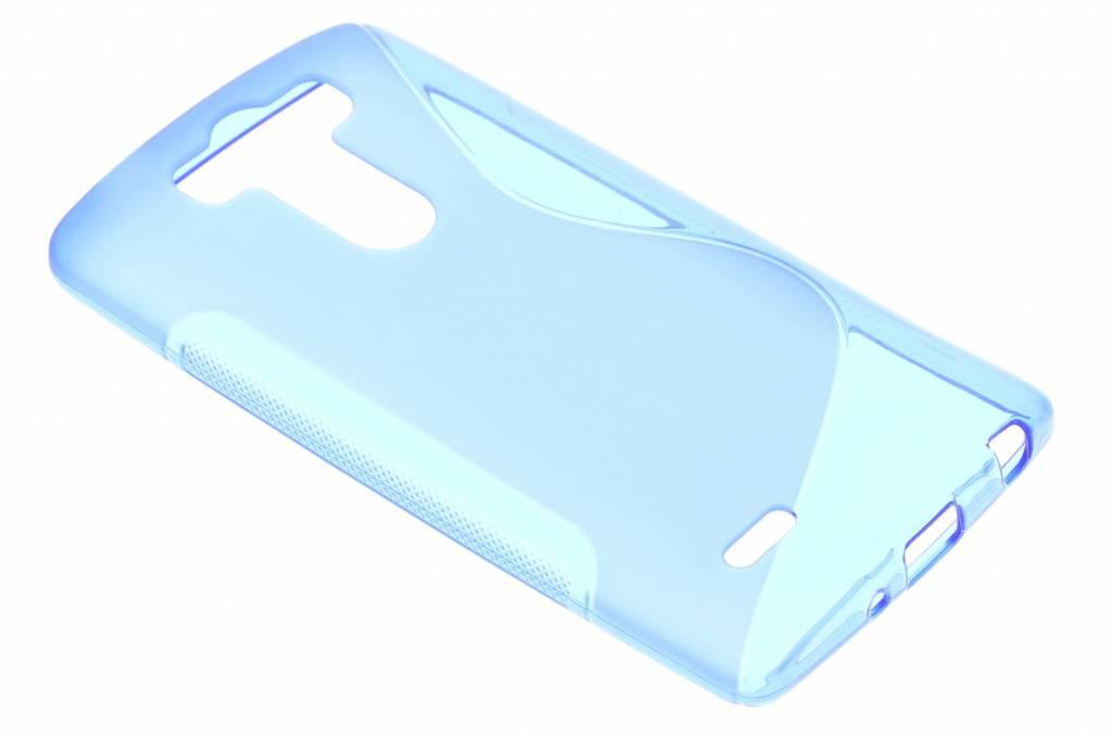 Blauw S-line TPU hoesje voor de LG G3 S