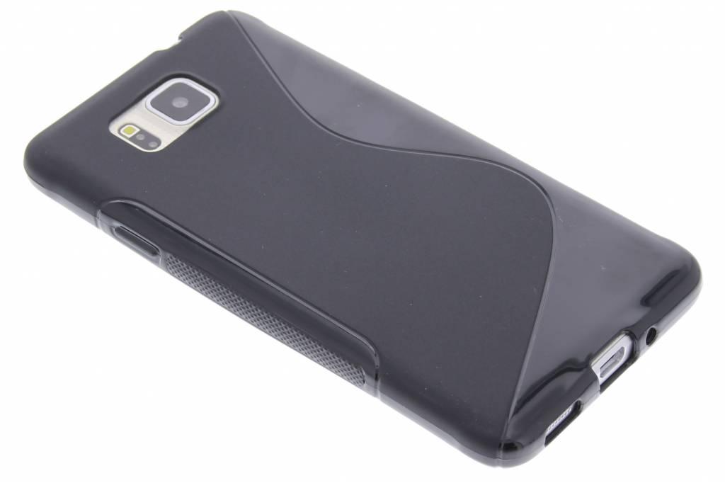Zwart S-line TPU hoesje voor de Samsung Galaxy Alpha