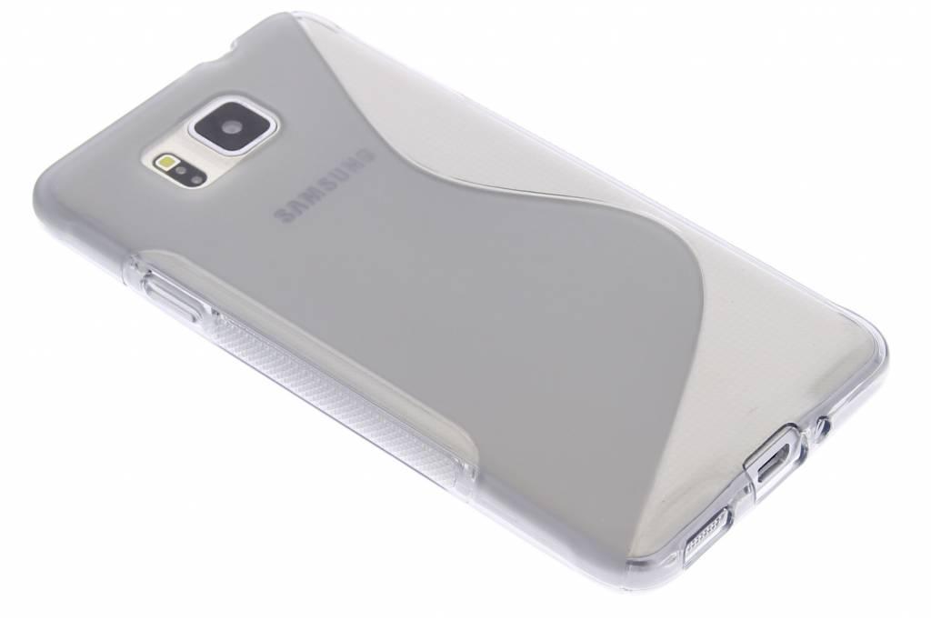 Grijs S-line TPU hoesje voor de Samsung Galaxy Alpha