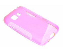 Rosé S-line TPU hoesje Samsung Galaxy Young 2