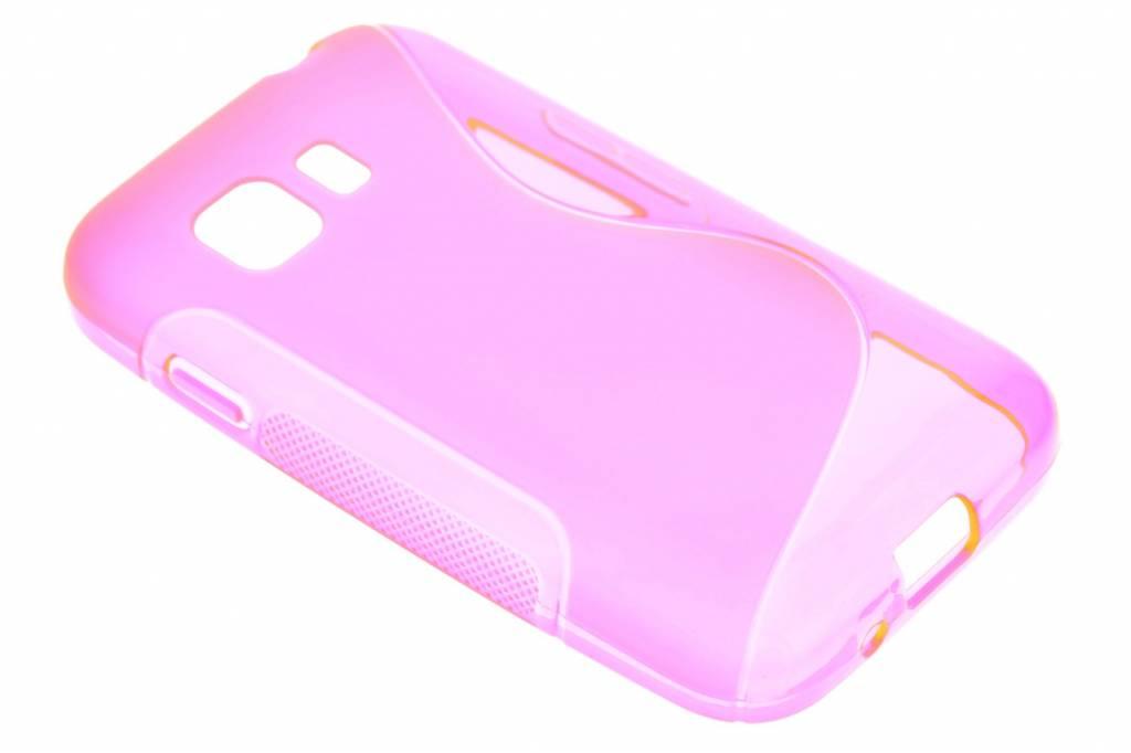 Rosé S-line TPU hoesje voor de Samsung Galaxy Young 2