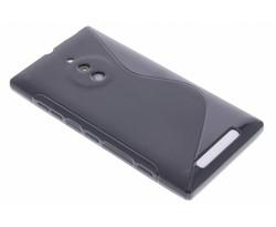 Zwart S-line TPU hoesje Nokia Lumia 830