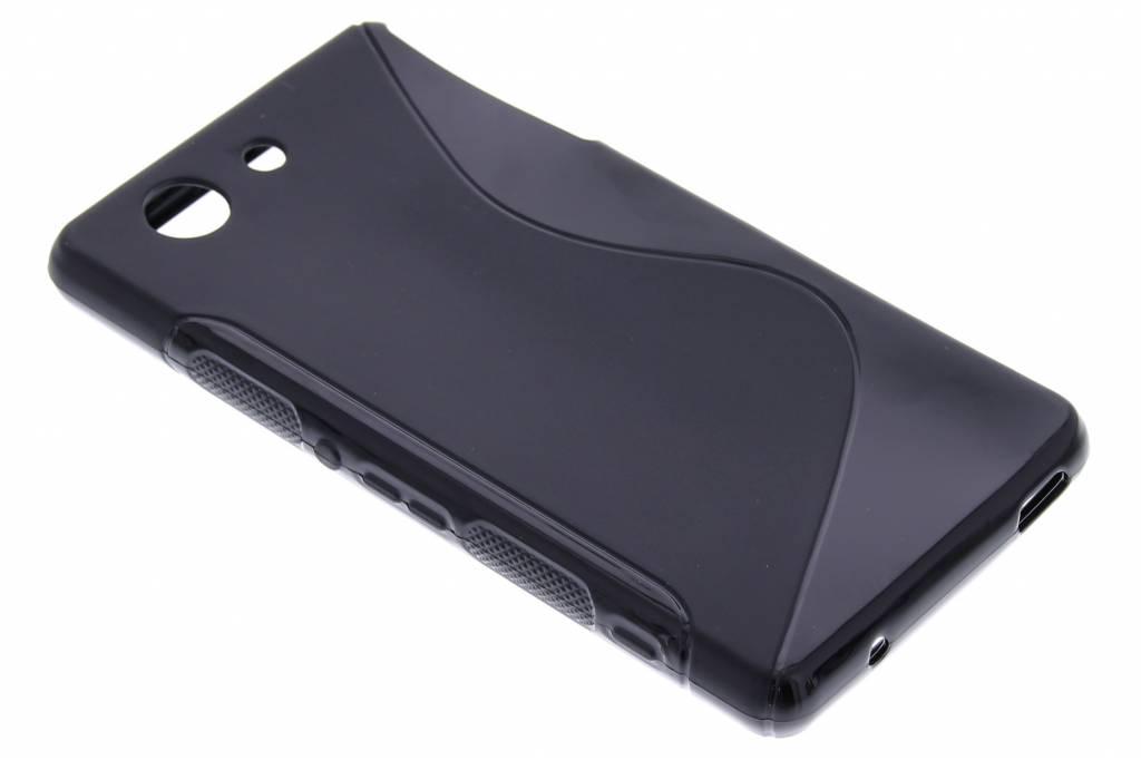 Zwart S-line TPU siliconen hoesje voor de Sony Xperia Z3 Compact