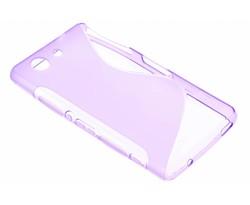Paars S-line TPU hoesje Sony Xperia Z3 Compact