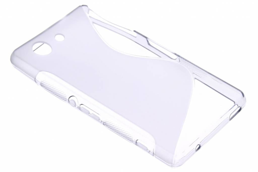 Grijs S-line TPU siliconen hoesje voor de Sony Xperia Z3 Compact