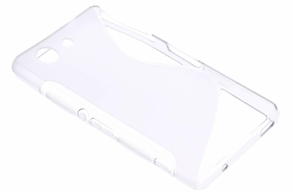 Transparant S-line TPU siliconen hoesje voor de Sony Xperia Z3 Compact