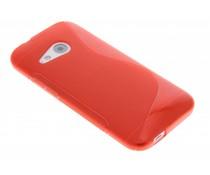 Rood S-line TPU hoesje HTC One Mini 2