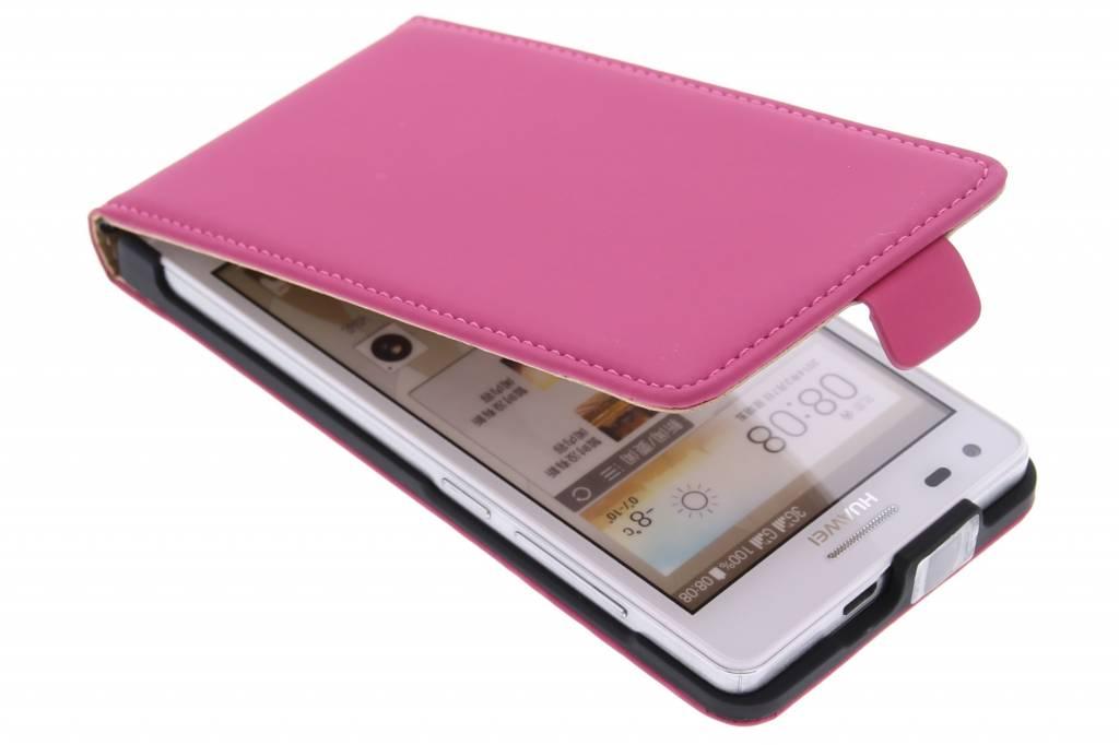 Mobiparts Premium flipcase voor de Huawei Ascend G6 - Pink