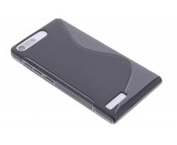 Zwart S-line TPU hoesje Huawei Ascend G6