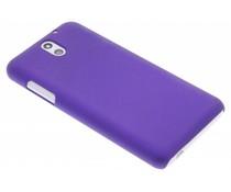 Paars effen hardcase hoesje HTC Desire 610