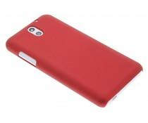 Rood effen hardcase hoesje HTC Desire 610