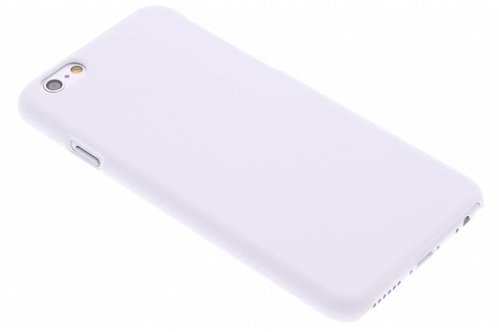 Wit effen hardcase hoesje voor de iPhone 6 / 6s