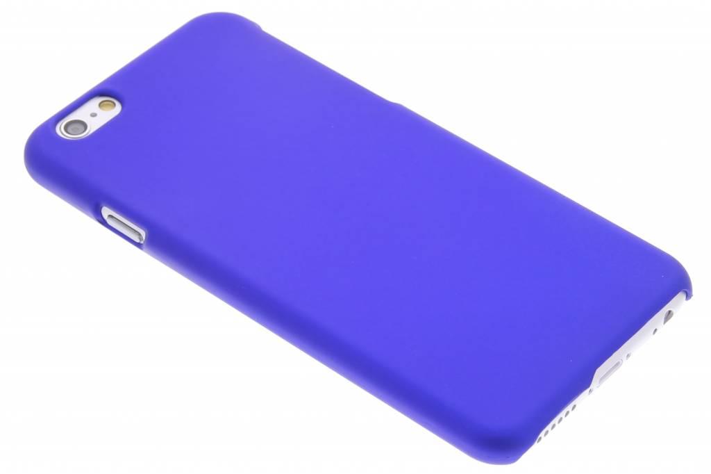 Blauw effen hardcase hoesje voor de iPhone 6 / 6s