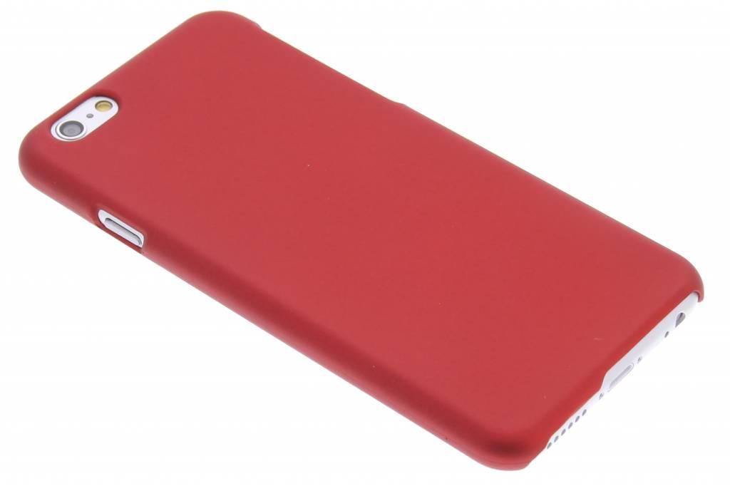 Rood effen hardcase hoesje voor de iPhone 6 / 6s