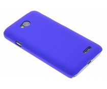Blauw effen hardcase hoesje LG L70