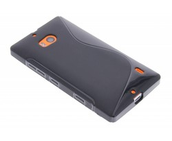 Zwart S-line TPU hoesje Nokia Lumia 930