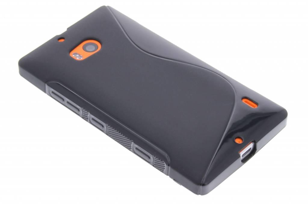 Zwart S-line TPU hoesje voor de Nokia Lumia 930