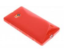 Rood S-line TPU hoesje Nokia Lumia 930