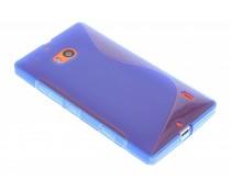 Blauw S-line TPU hoesje Nokia Lumia 930