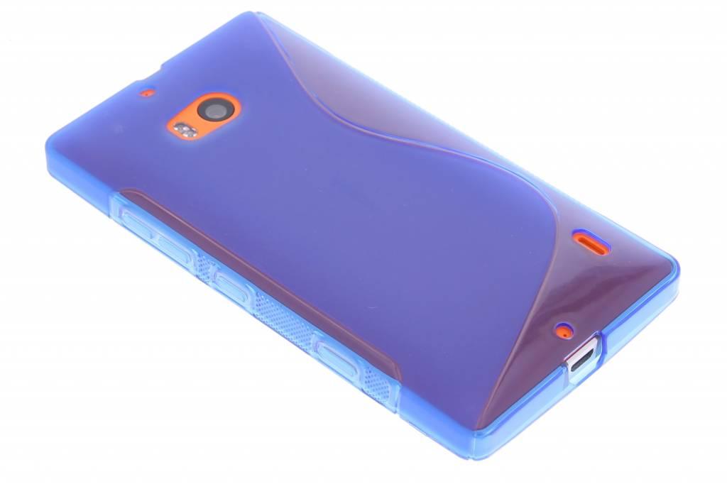 Blauw S-line TPU hoesje voor de Nokia Lumia 930