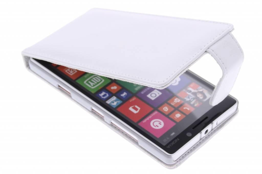 Witte stijlvolle flipcase voor de Nokia Lumia 930