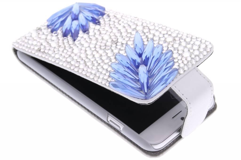 Glazen strass flipcase voor de iPhone 6 / 6s