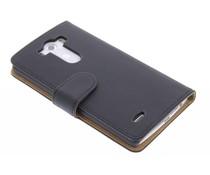 Zwart effen booktype hoes LG G3