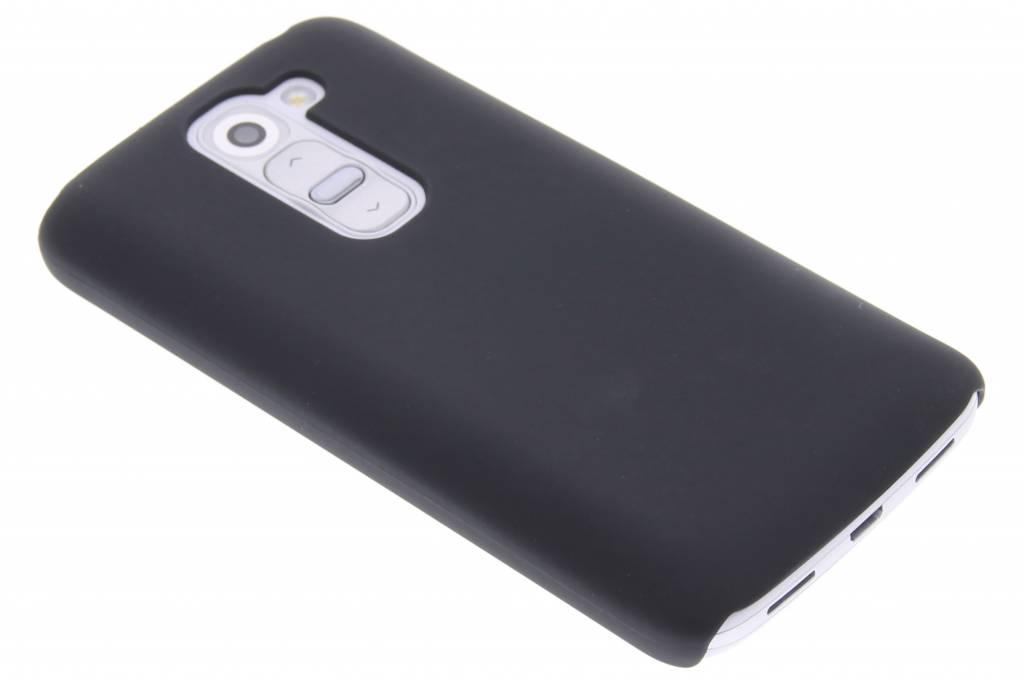 Zwart effen hardcase hoesje voor de LG G2 Mini