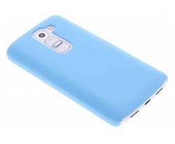 Turquoise effen hardcase hoesje LG G2 Mini