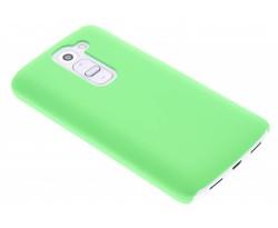 Groen effen hardcase hoesje LG G2 Mini