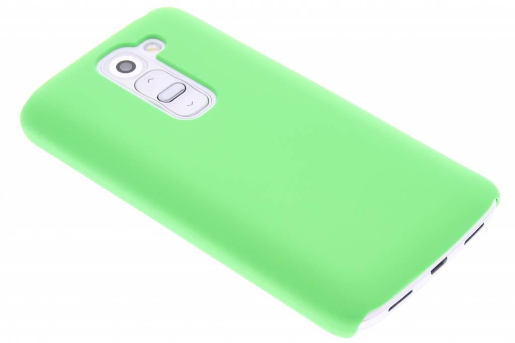 Groen effen hardcase hoesje voor de LG G2 Mini