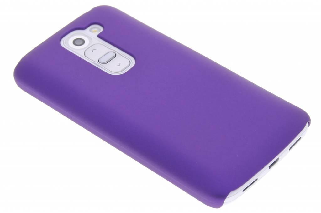 Paars effen hardcase hoesje voor de LG G2 Mini