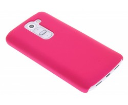 Fuchsia effen hardcase hoesje LG G2 Mini