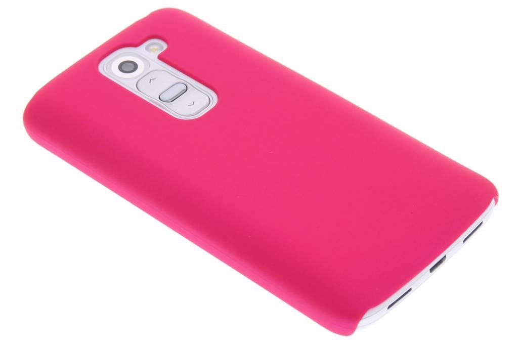 Fuchsia effen hardcase hoesje voor de LG G2 Mini