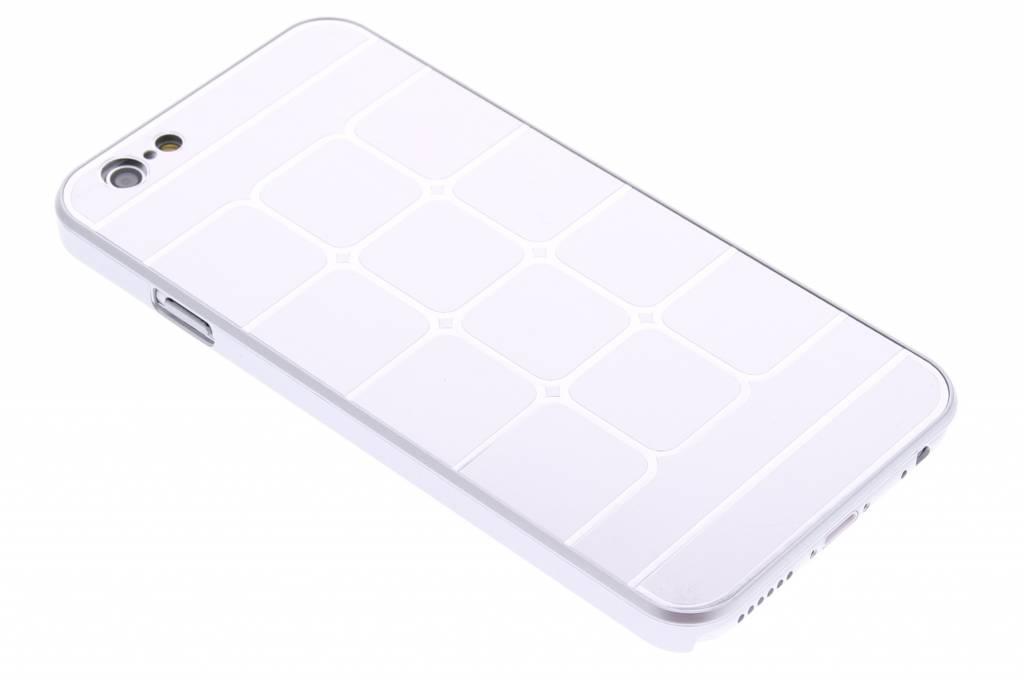 Zilvere luxe brushed aluminium hardcase hoesjes voor de iPhone 6 / 6s
