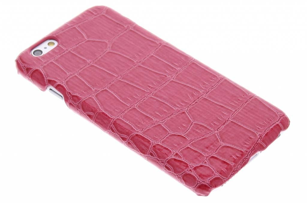 Fuchsia krokodil design hardcase hoesje voor de iPhone 6 / 6s