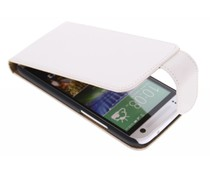 Wit classic flipcase HTC One Mini 2