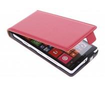 Rood luxe flipcase Nokia Lumia 930