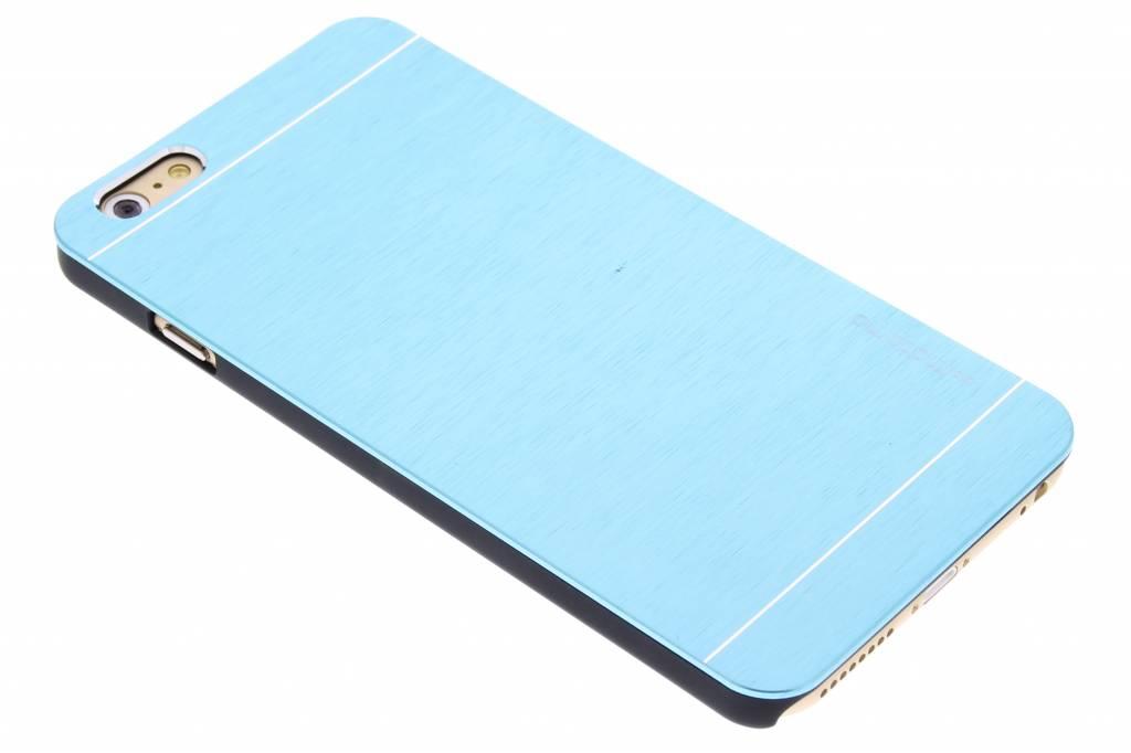 Blauwe brushed aluminium hardcase voor de iPhone 6(s) Plus