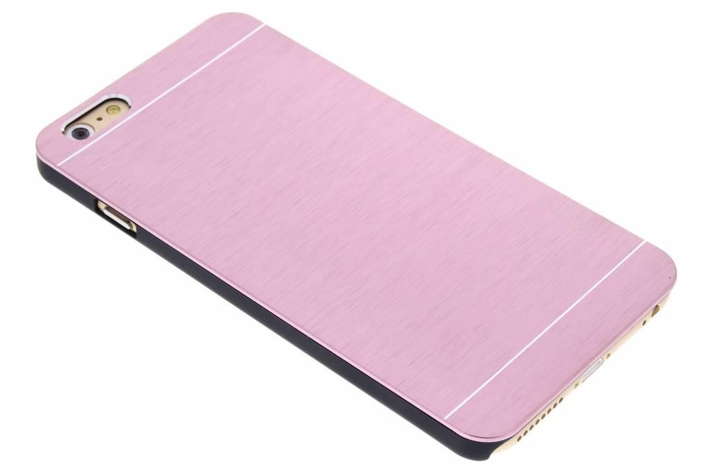 Roze brushed aluminium hardcase voor de iPhone 6(s) Plus