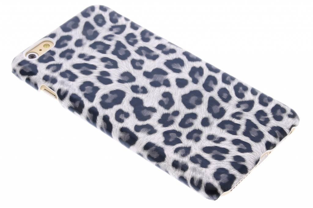 Grijs luipaard design hardcase hoesje voor de iPhone 6(s) Plus