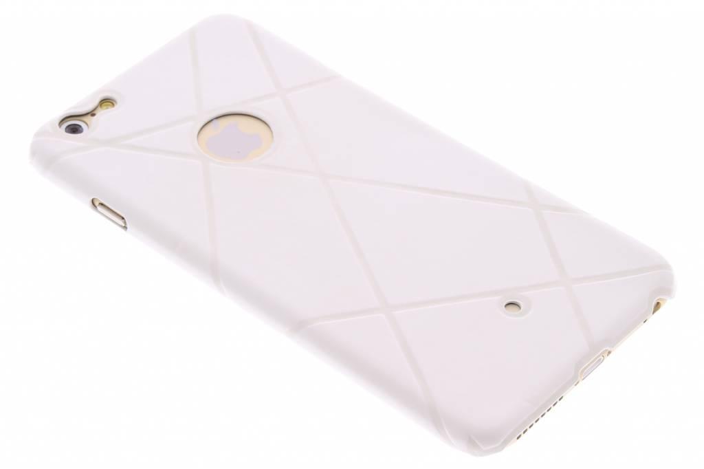 Wit sport design TPU hardcase hoesje voor de iPhone 6(s) Plus