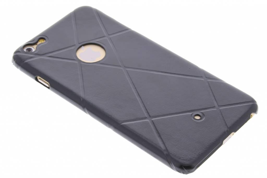 Zwart sport design TPU hardcase hoesje voor de iPhone 6(s) Plus