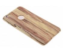 Hout design TPU hardcase hoesje iPhone 6(s) Plus