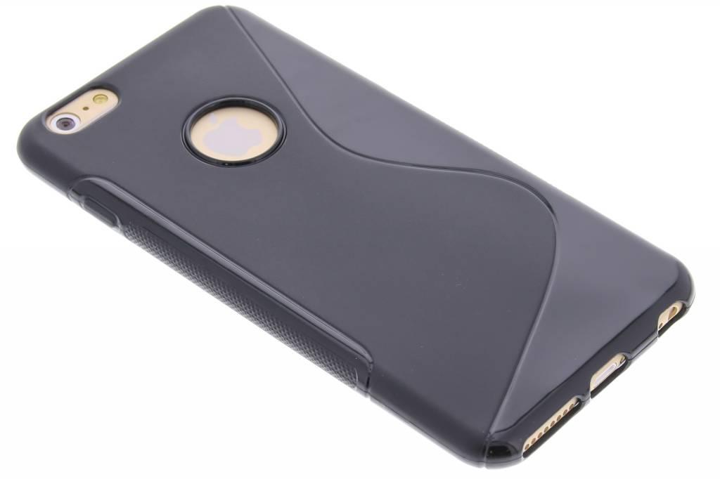 Zwart S-line TPU hoesje voor de iPhone 6(s) Plus